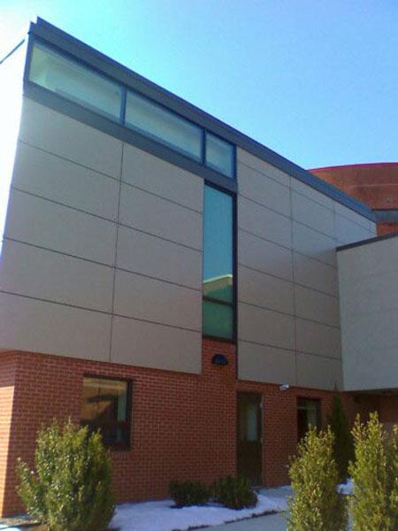 Trespa Panel System Installation Delaware County